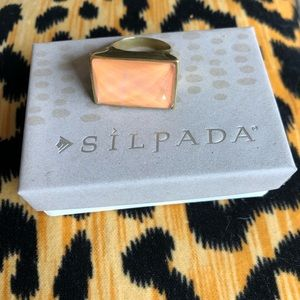 Silpada Sunset Statement Ring